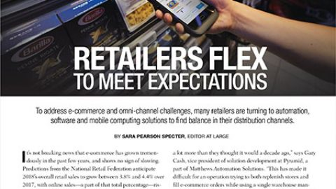 Pyramid's Gary Cash Discusses Challenges Faced by Retailers in October Issue of Modern Materials Handling